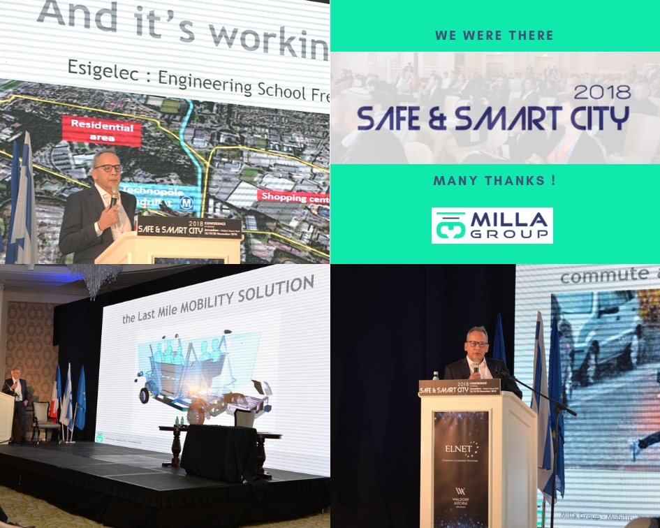 We were on Safe & Smart City 2018