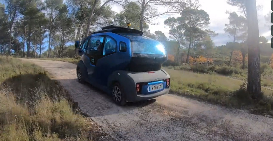 MILLA POD in off-road at Aix